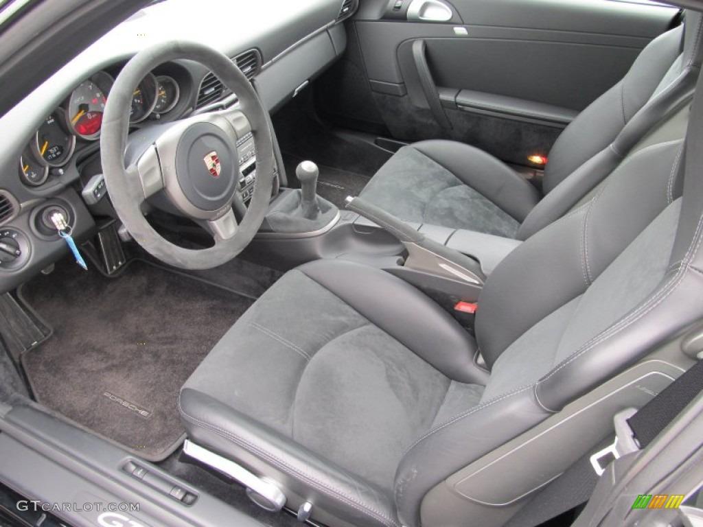 Black W Alcantara Interior 2007 Porsche 911 Gt3 Photo 50553103 Gtcarlot Com