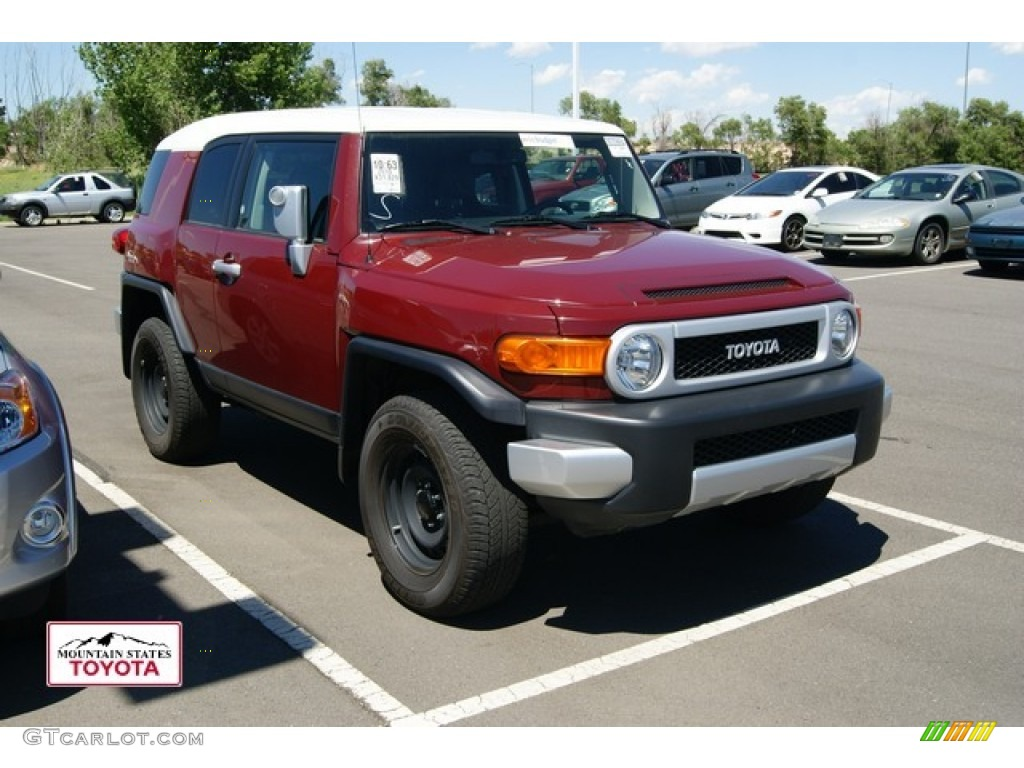 2010 Brick Red Toyota Fj Cruiser 4wd 50549389 Gtcarlot