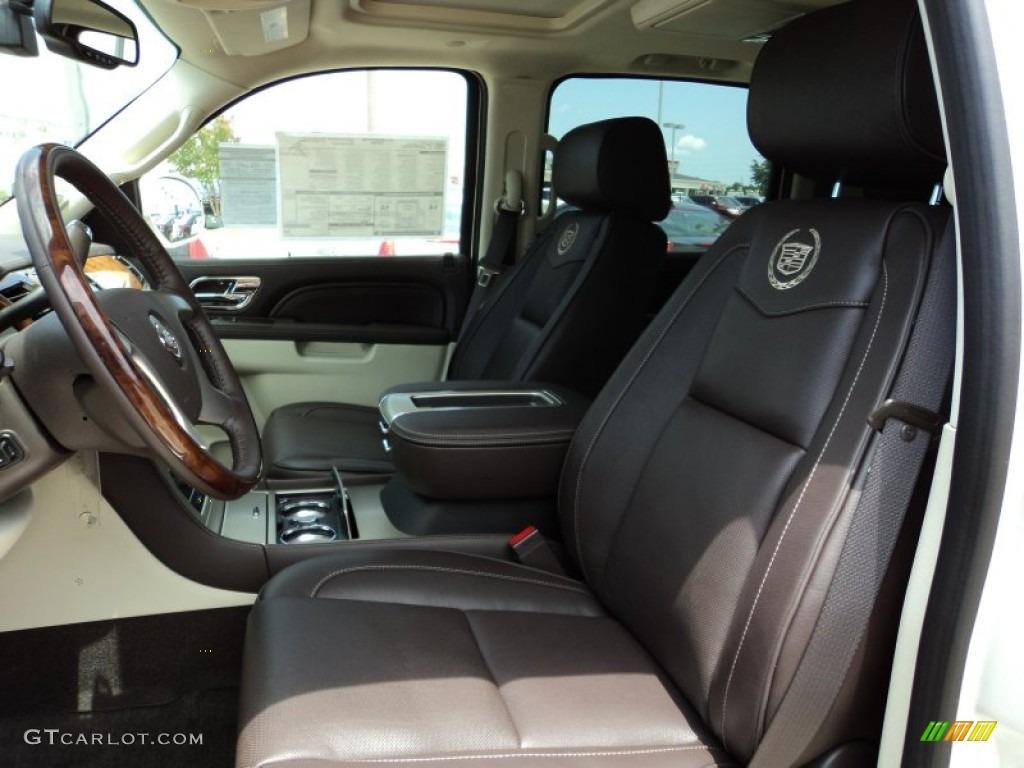 2011 White Diamond Tricoat Cadillac Escalade Esv Platinum 50549724 Photo 7