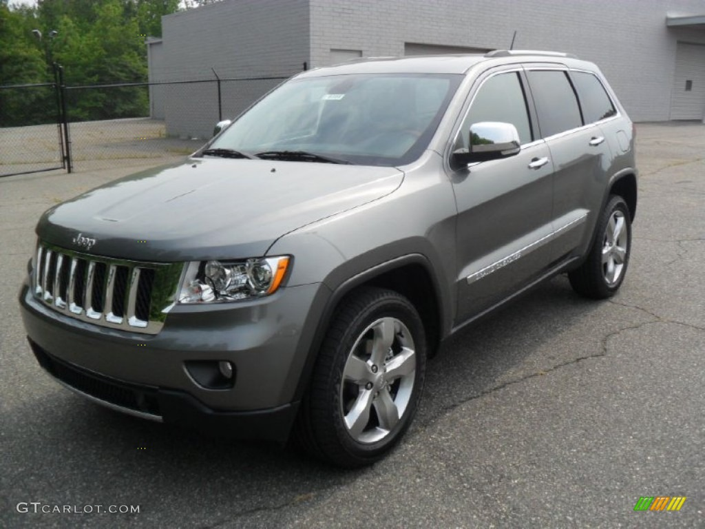 2011 Mineral Gray Metallic Jeep Grand Cherokee Overland 50549891 Car Color