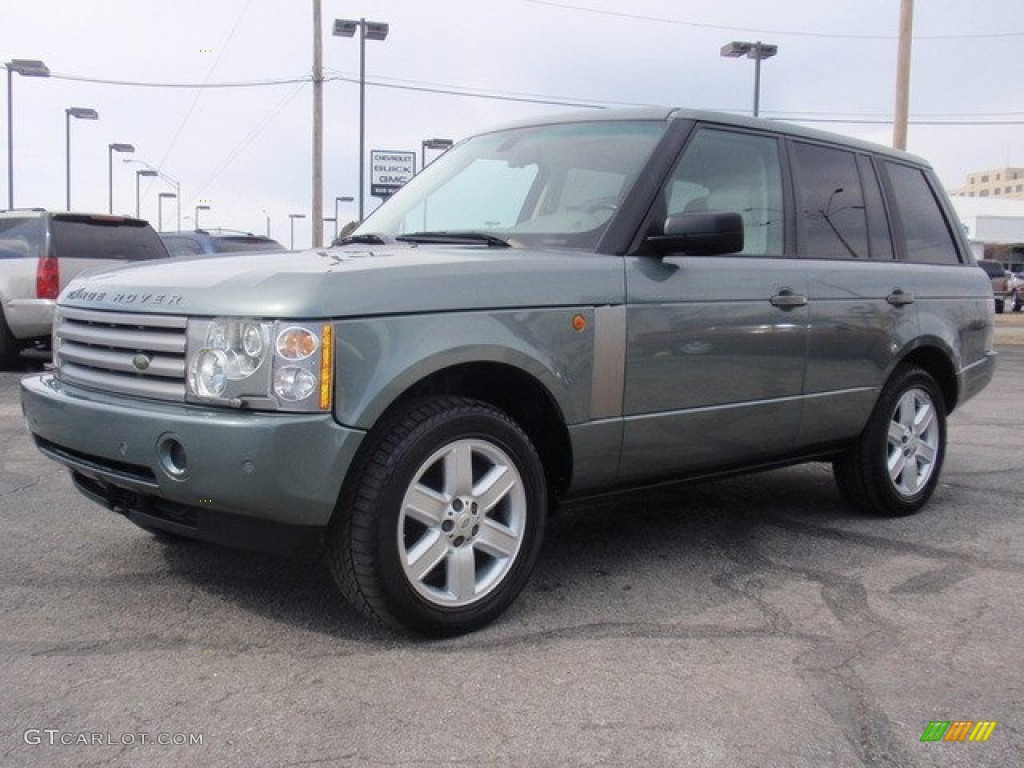 2005 giverny green metallic land rover range rover hse 50549445 car color. Black Bedroom Furniture Sets. Home Design Ideas