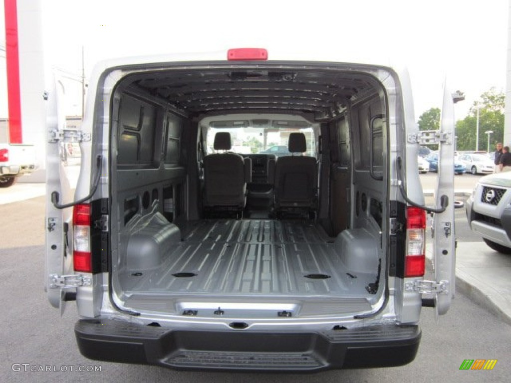 Charcoal Interior 2012 Nissan Nv 1500 S Photo 50568865