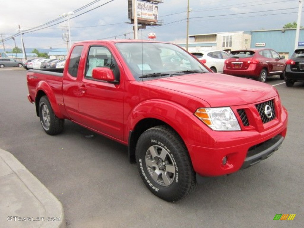 Red Alert 2011 Nissan Frontier Pro-4X King Cab 4x4 ...