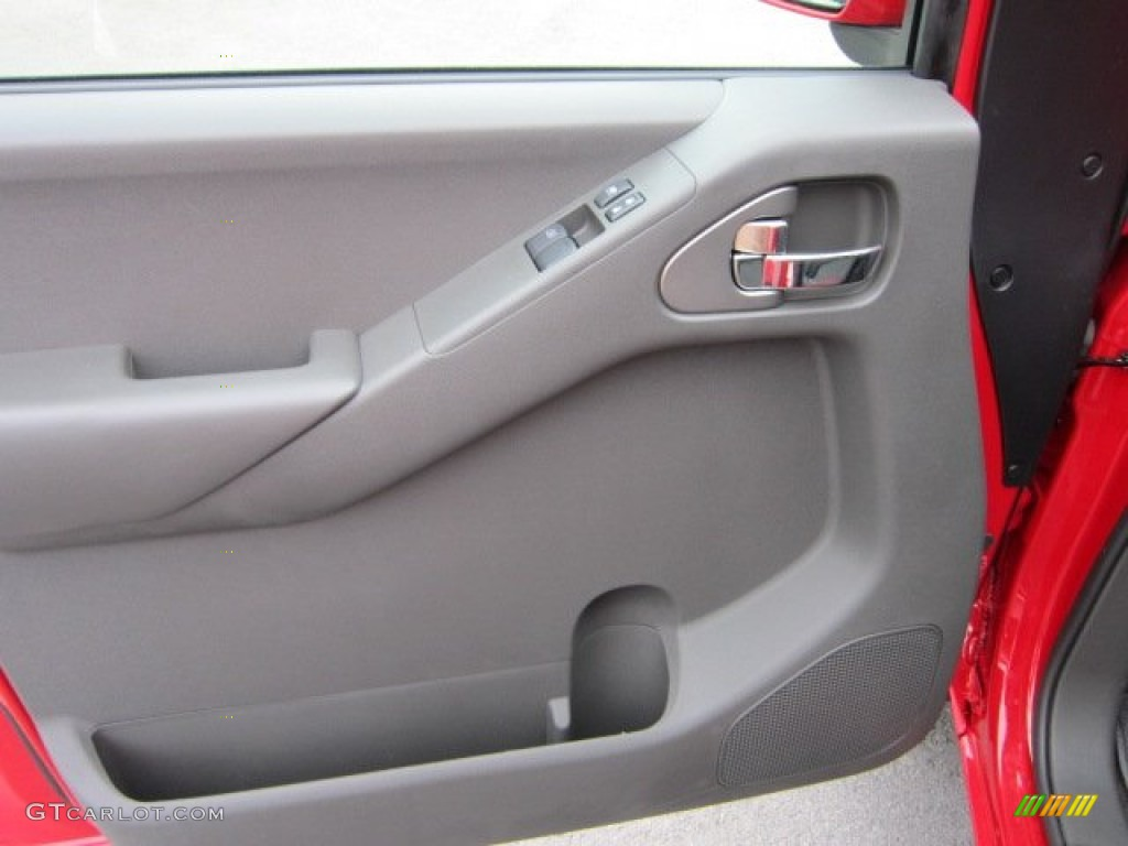 2011 Nissan Frontier Pro-4X King Cab 4x4 Pro 4X Graphite/Red Door Panel & 2011 Nissan Frontier Pro-4X King Cab 4x4 Pro 4X Graphite/Red Door ...