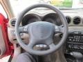 1999 Pontiac Grand Am Dark Taupe Interior Steering Wheel Photo