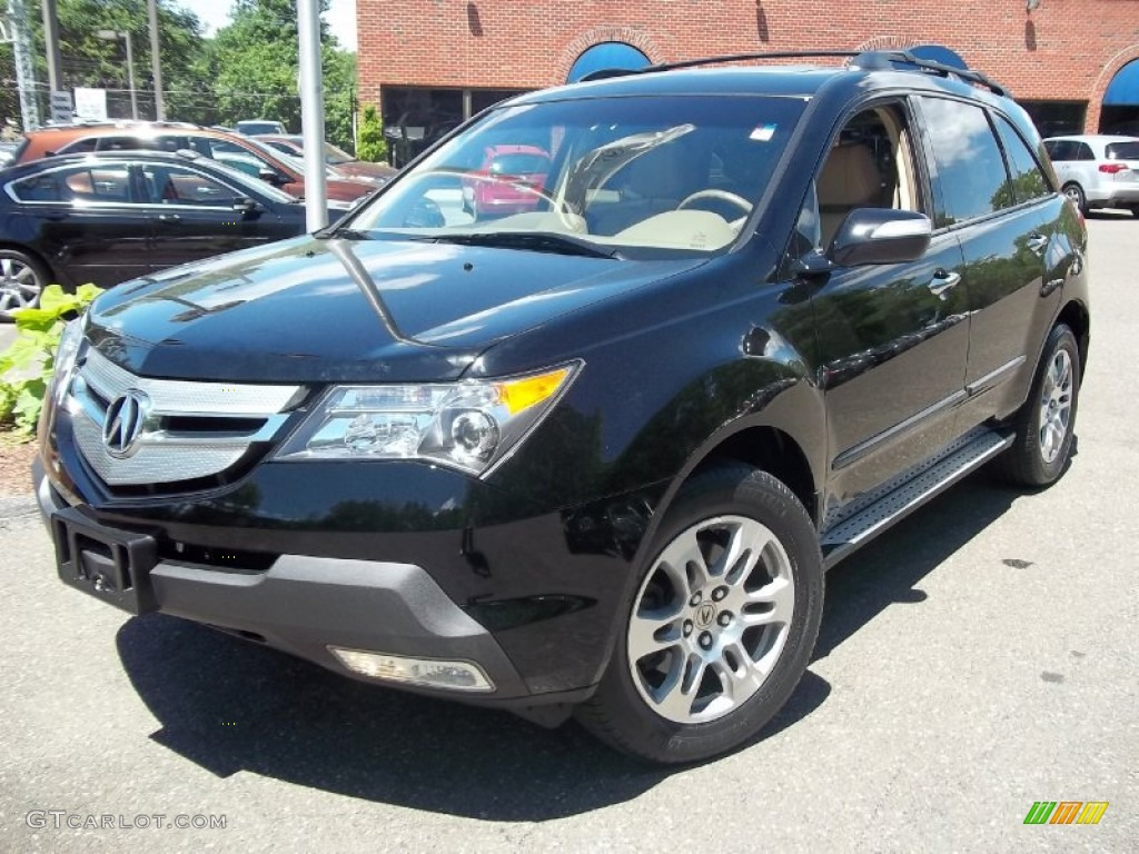 Formal Black 2009 Acura Mdx Technology Exterior Photo 50571265