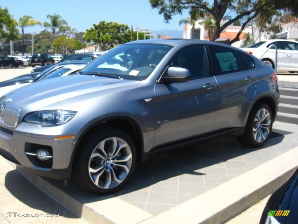 2012 Space Grey Metallic Bmw X6 Xdrive50i 50549487 Photo 2