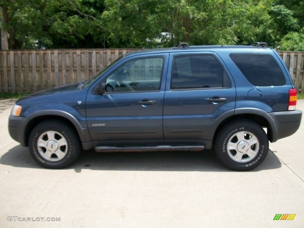 medium wedgewood blue metallic 2001 ford escape xlt v6 4wd. Black Bedroom Furniture Sets. Home Design Ideas