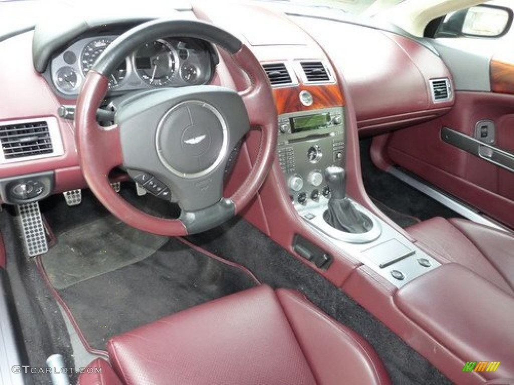 Iron Ore Red Interior 2006 Aston Martin Db9 Volante Photo 50583364 Gtcarlot Com