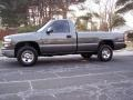 2002 Medium Charcoal Gray Metallic Chevrolet Silverado 1500 Work Truck Regular Cab 4x4  photo #47