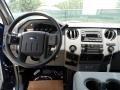2011 Ford F250 Super Duty Steel Gray Interior Dashboard Photo