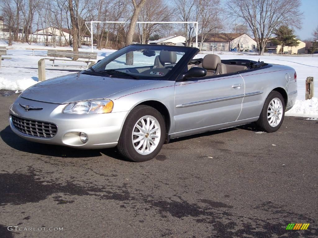 Brilliant Silver Metallic Chrysler Sebring
