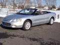 2002 Brilliant Silver Metallic Chrysler Sebring LXi Convertible  photo #1