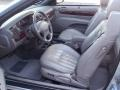 2002 Brilliant Silver Metallic Chrysler Sebring LXi Convertible  photo #23