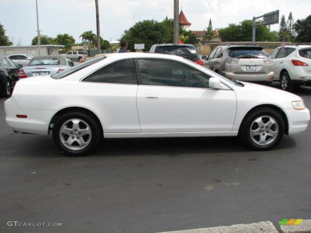Taffeta White 2000 Honda Accord EX V6 Coupe Exterior Photo ...