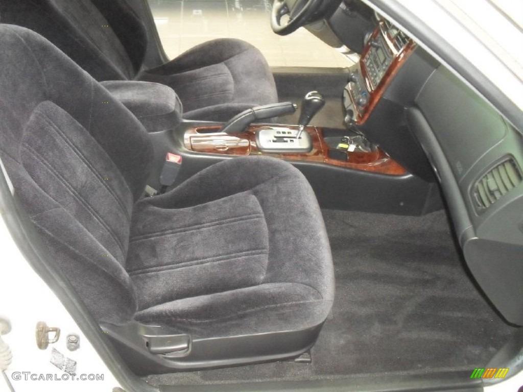 Black Interior 2002 Hyundai Sonata Gls V6 Photo 50602071