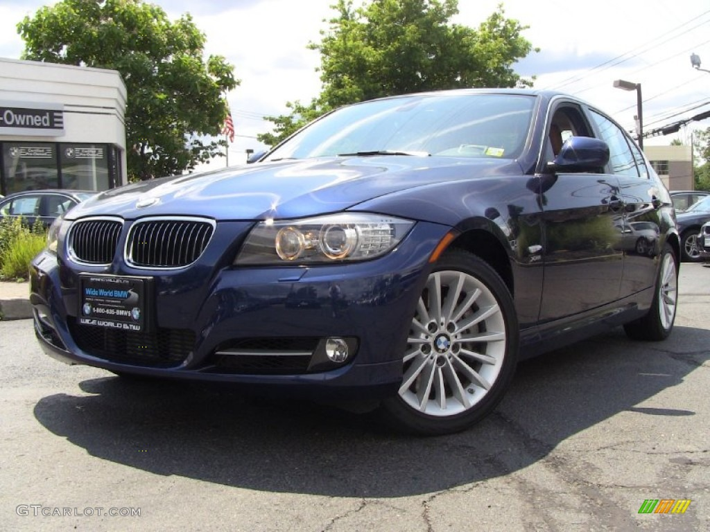 2011 deep sea blue metallic bmw 3 series 335i xdrive sedan 50600892 car color. Black Bedroom Furniture Sets. Home Design Ideas