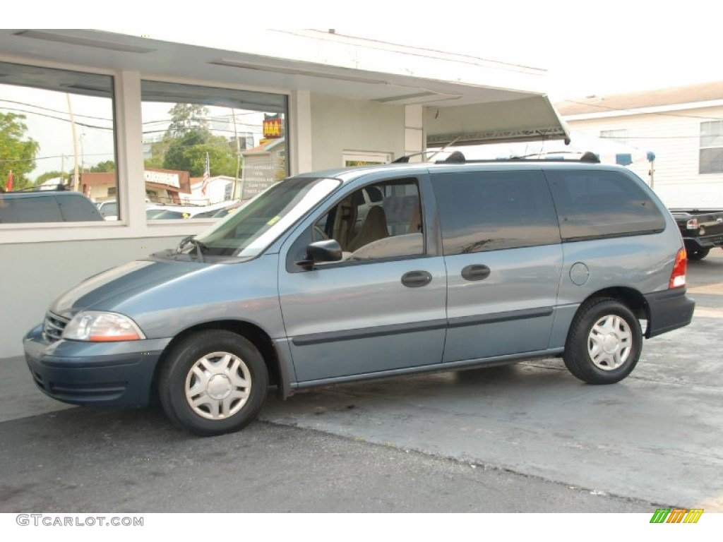 1999 medium steel blue metallic ford windstar lx 50601193 gtcarlot com car color galleries gtcarlot com