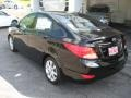 Ultra Black - Accent GLS 4 Door Photo No. 8