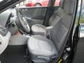 2012 Accent GLS 4 Door Gray Interior