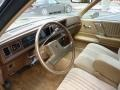 1987 Cutlass Supreme Coupe Beige Interior