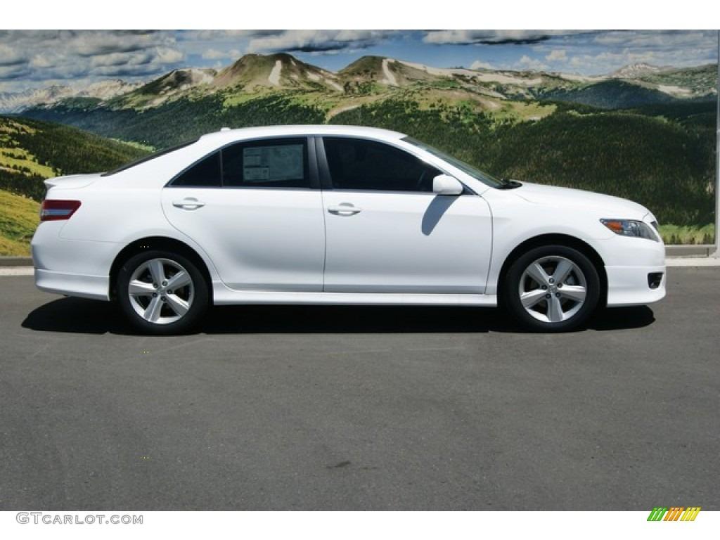 2011 super white toyota camry se v6 50600792 photo 2 car color galleries. Black Bedroom Furniture Sets. Home Design Ideas