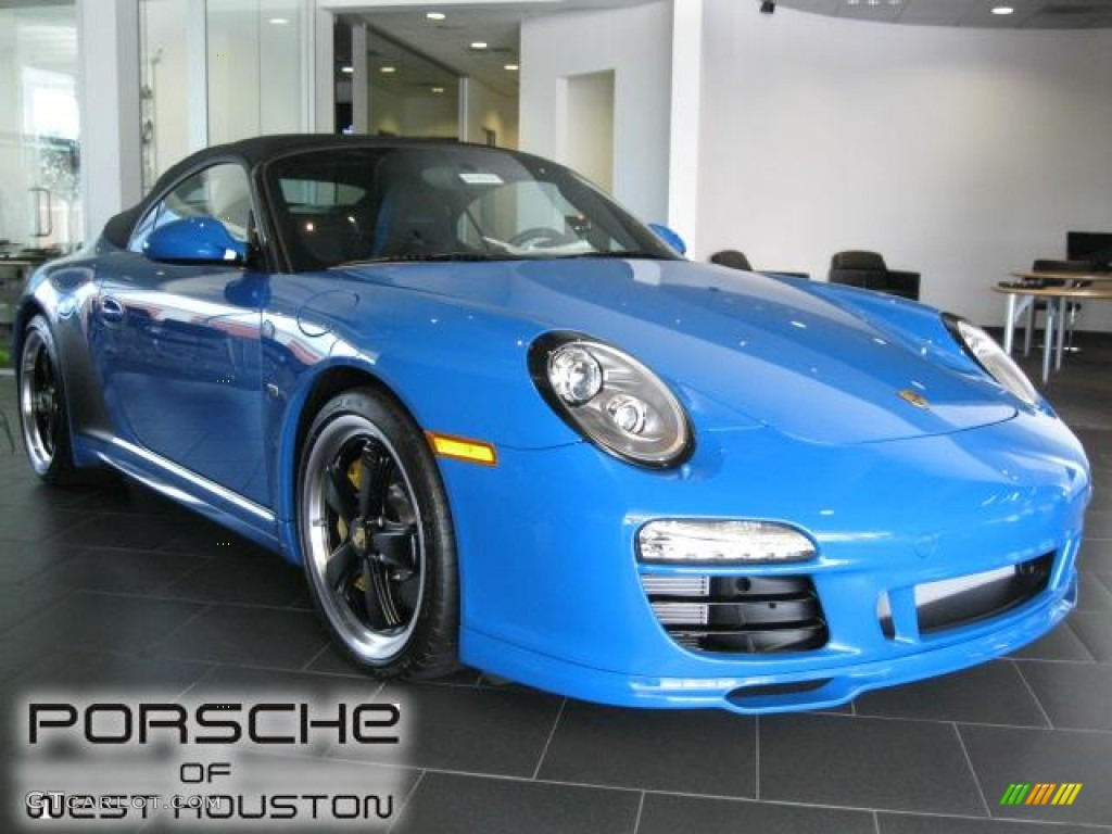 2011 Pure Blue Porsche 911 Speedster 50601093 Photo 10