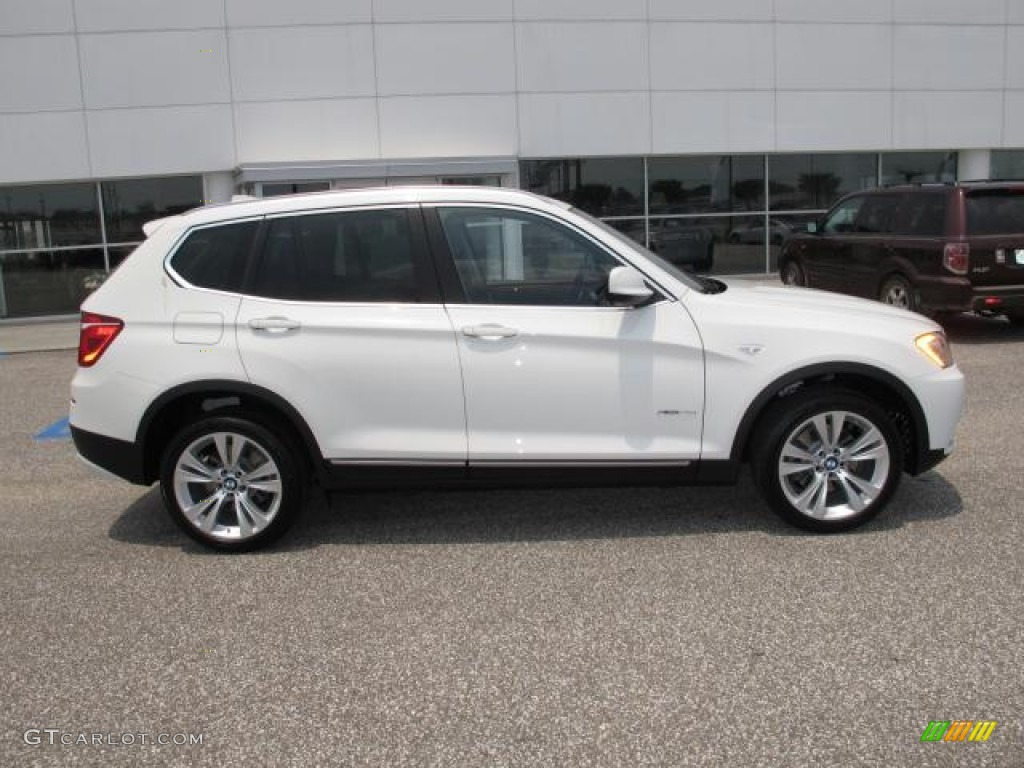 alpine white 2011 bmw x3 xdrive 35i exterior photo. Black Bedroom Furniture Sets. Home Design Ideas