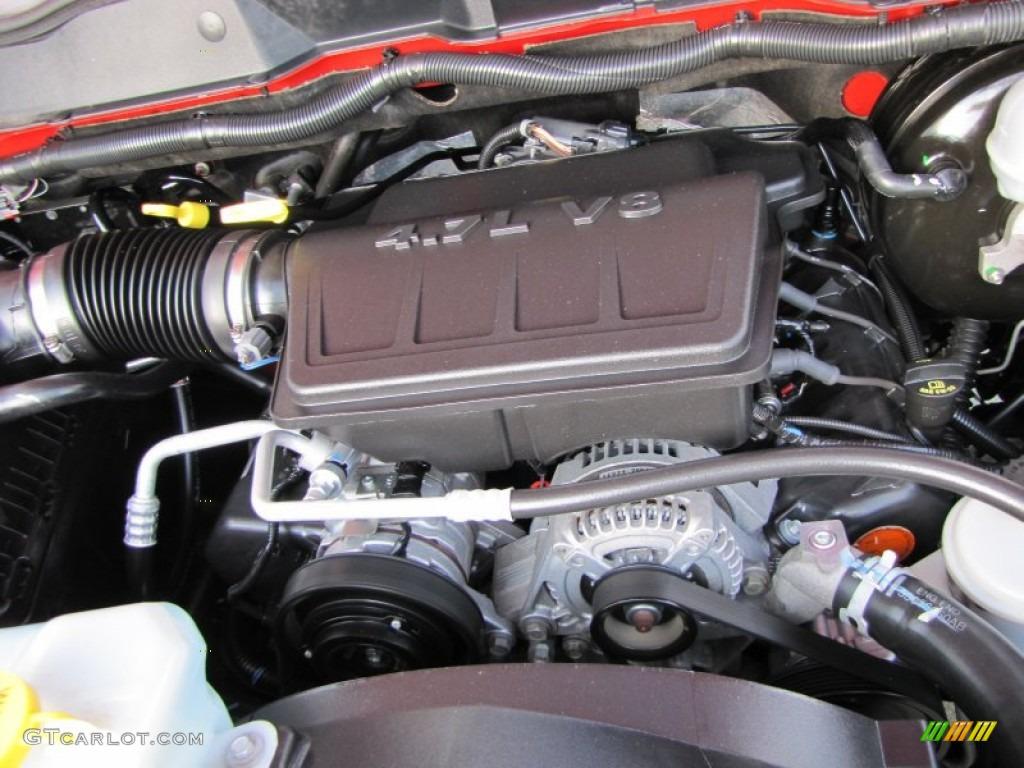 2008 Dodge Ram 1500 Sxt Quad Cab 4 7 Liter Sohc 16 Valve