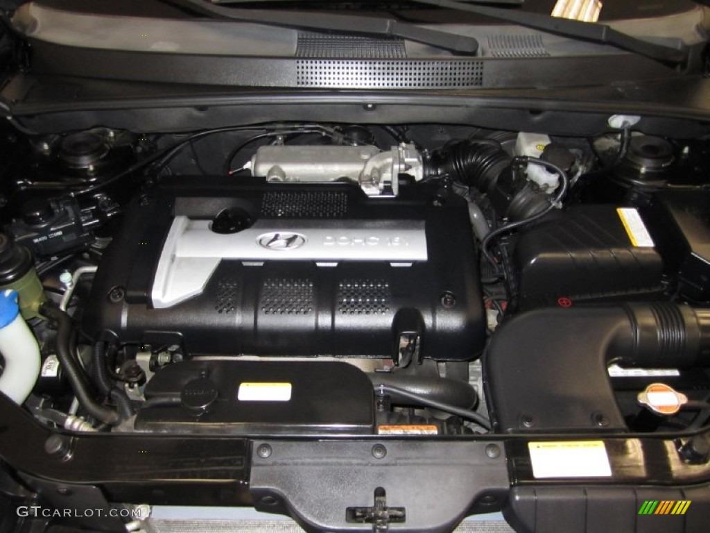 2005 Hyundai Tucson GL 2.0 Liter DOHC 16 Valve 4 Cylinder ...