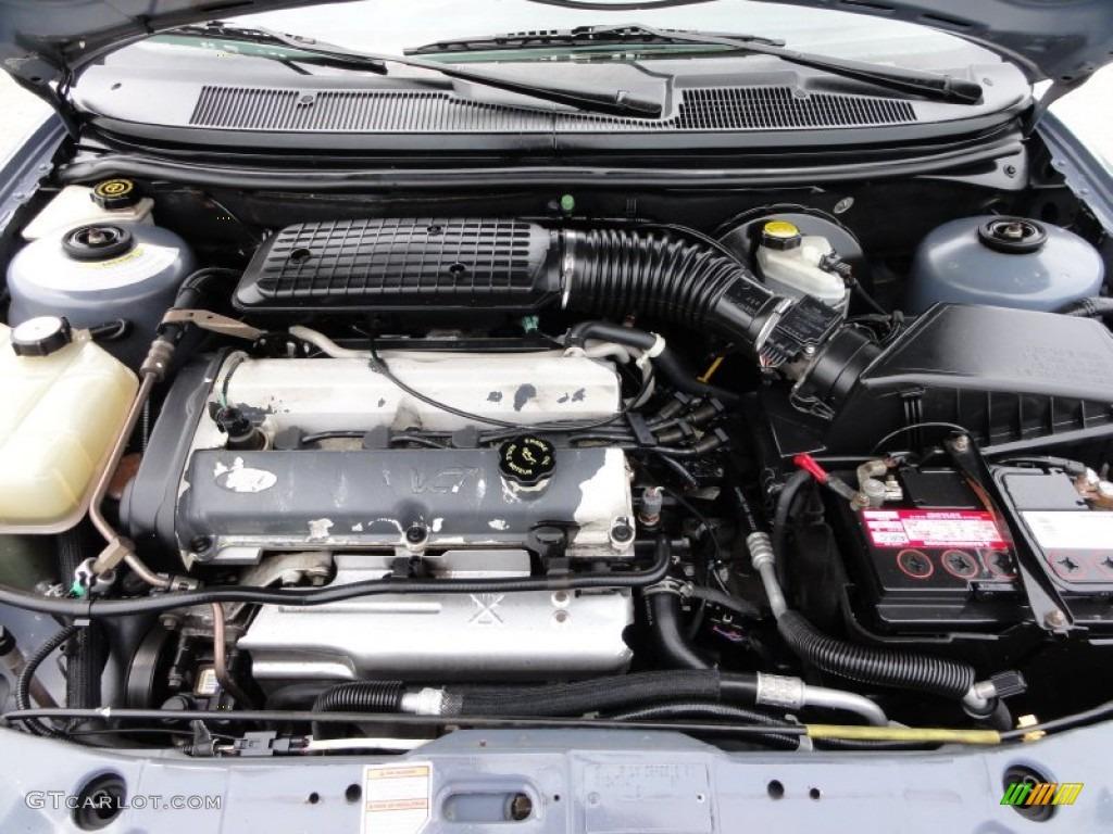 1999    Ford       Contour    LX 20 Liter DOHC 16Valve 4 Cylinder