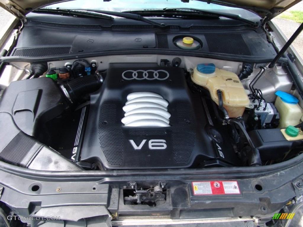 1999 audi a6 2 8 quattro sedan 2 8 liter dohc 30 valve v6. Black Bedroom Furniture Sets. Home Design Ideas
