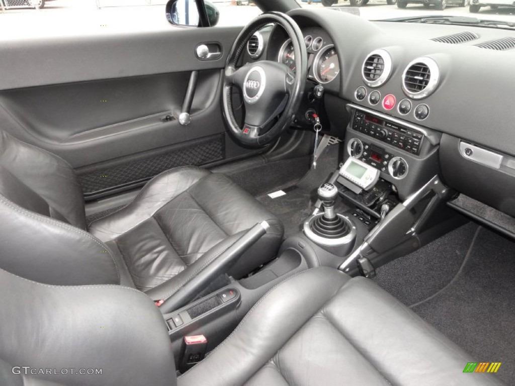 2001 audi tt 1.8t quattro roadster interior photo #50630451