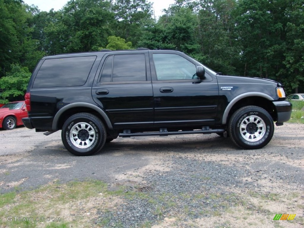 Black 2000 Ford Expedition Xlt 4x4 Exterior Photo