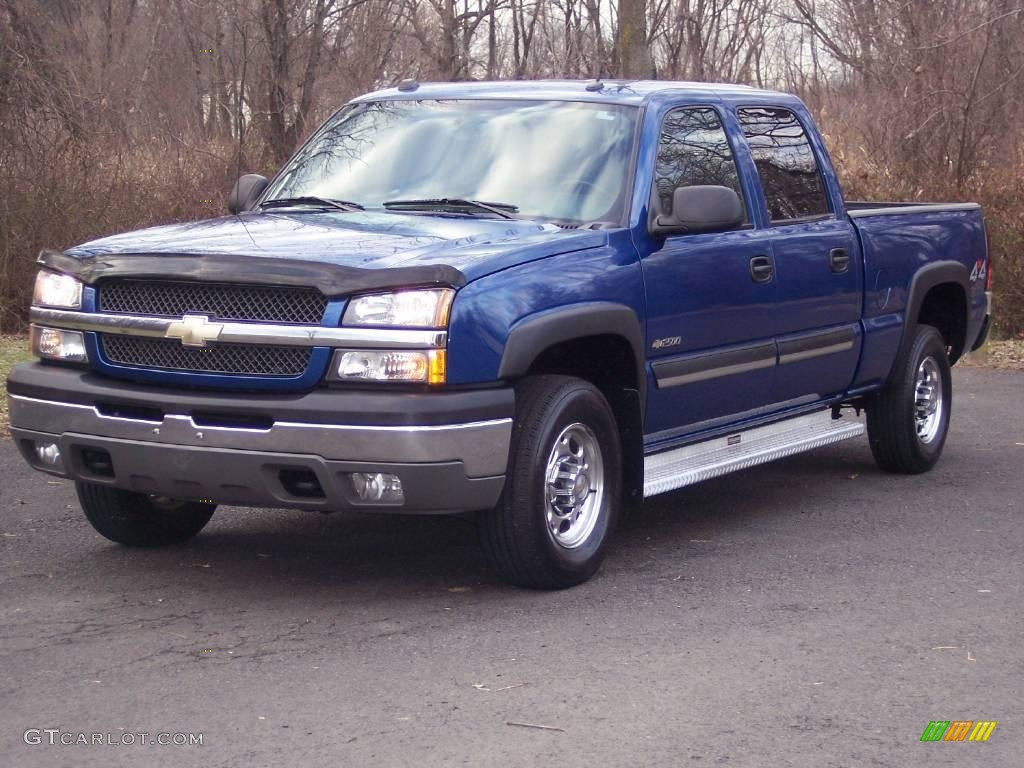 2004 chevrolet silverado 2500hd lt crew cab 4x4 arrival blue. Cars Review. Best American Auto & Cars Review