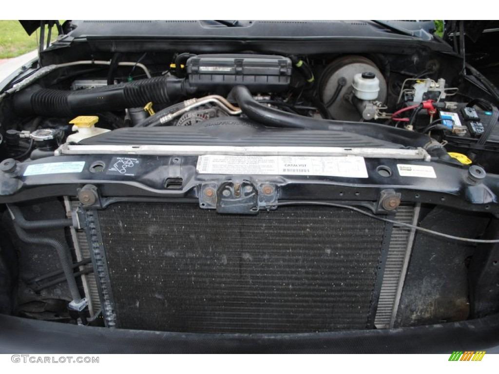 2001 dodge ram 1500 slt club cab 4x4 5 2 liter ohv 16 valve v8 engine photo 50637639. Black Bedroom Furniture Sets. Home Design Ideas