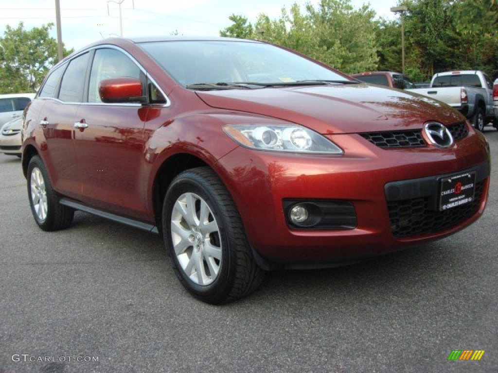 2008 copper red mica mazda cx 7 grand touring awd 50600864 car color galleries. Black Bedroom Furniture Sets. Home Design Ideas