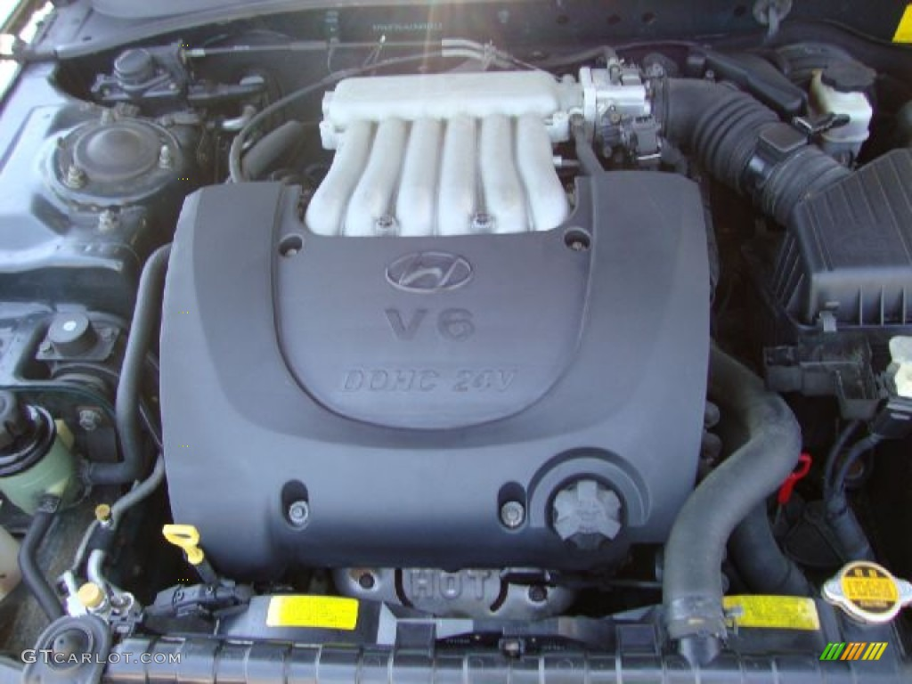 2001 Hyundai Sonata Gls V6 Engine Photos