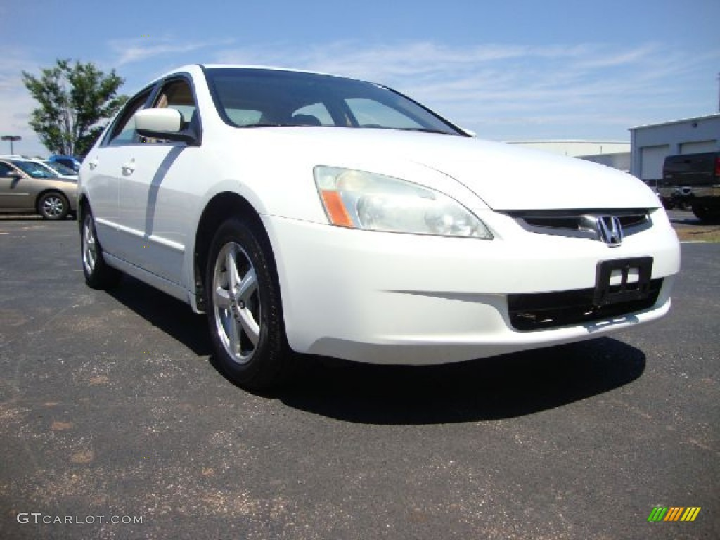 2003 Taffeta White Honda Accord Ex Sedan 50601288