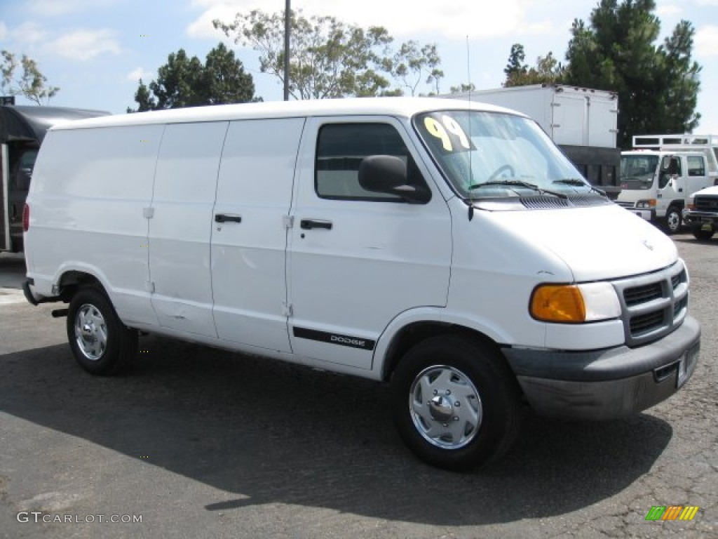 1999 bright white dodge ram van 2500 commercial 50648826 photo 10 car color. Black Bedroom Furniture Sets. Home Design Ideas