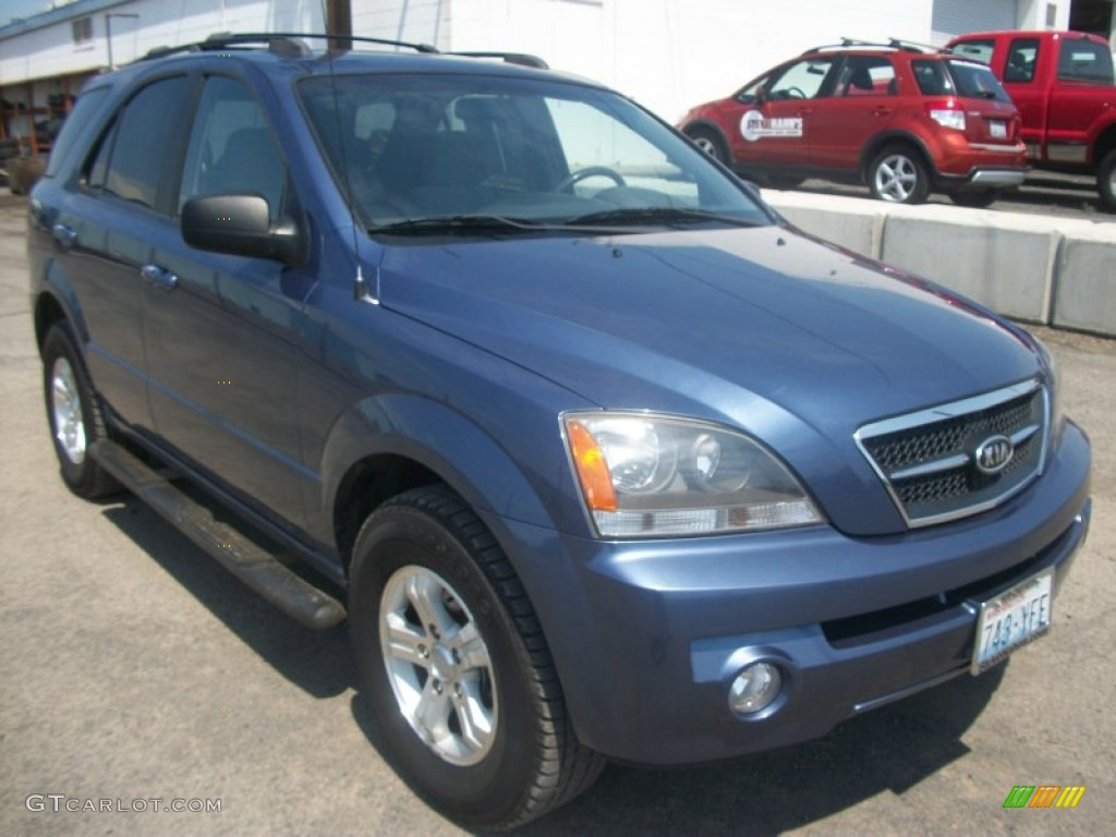 2006 indigo blue kia sorento lx 4x4 50648832 gtcarlot. Black Bedroom Furniture Sets. Home Design Ideas