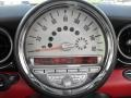 Black/Rooster Red Gauges Photo for 2009 Mini Cooper #50658494
