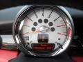 Black/Rooster Red Gauges Photo for 2009 Mini Cooper #50658524