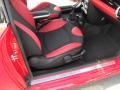 Black/Rooster Red Interior Photo for 2009 Mini Cooper #50658571