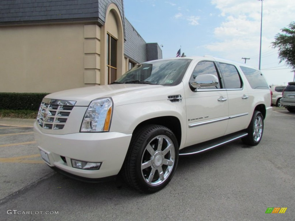 white diamond 2008 cadillac escalade esv exterior photo. Black Bedroom Furniture Sets. Home Design Ideas