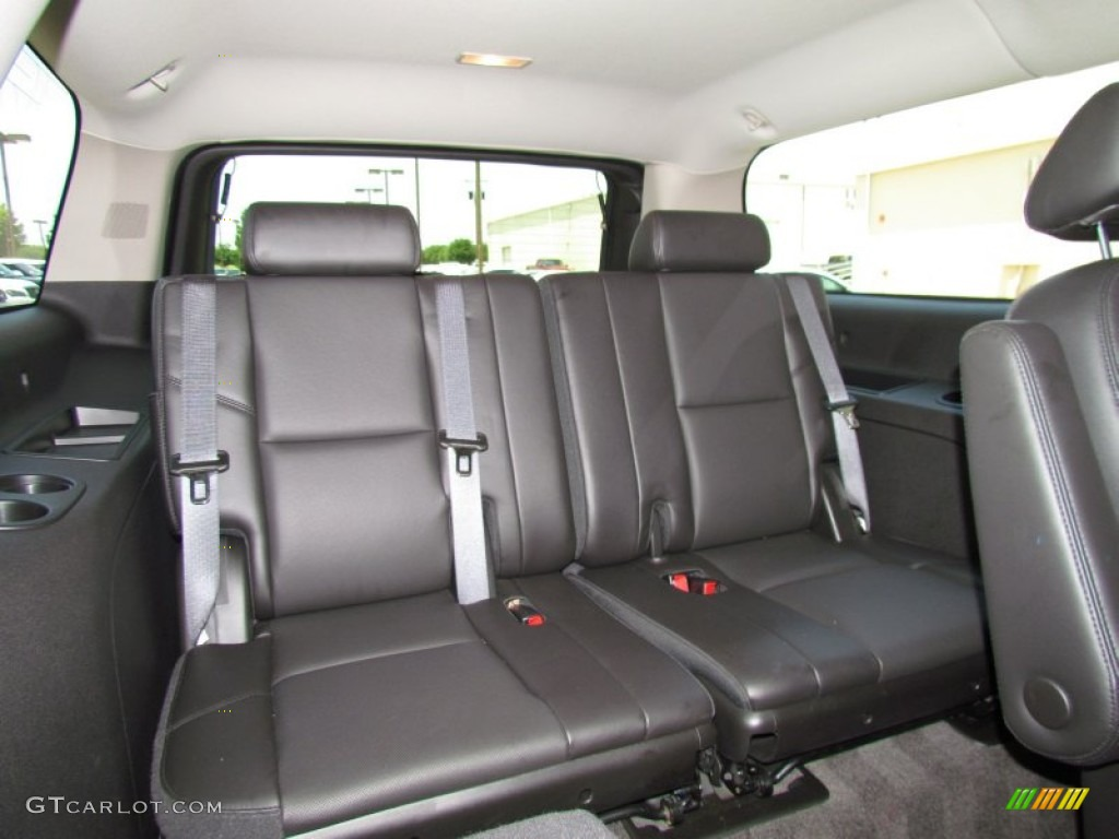 Ebony interior 2010 chevrolet suburban ltz photo 50659769