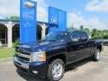 2011 Imperial Blue Metallic Chevrolet Silverado 1500 LT Extended Cab 4x4  photo #1