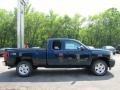 2011 Imperial Blue Metallic Chevrolet Silverado 1500 LT Extended Cab 4x4  photo #4
