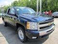 2011 Imperial Blue Metallic Chevrolet Silverado 1500 LT Extended Cab 4x4  photo #5