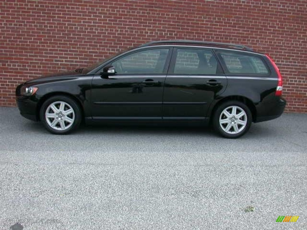 Black 2007 volvo v50 2 4i exterior photo 50663453